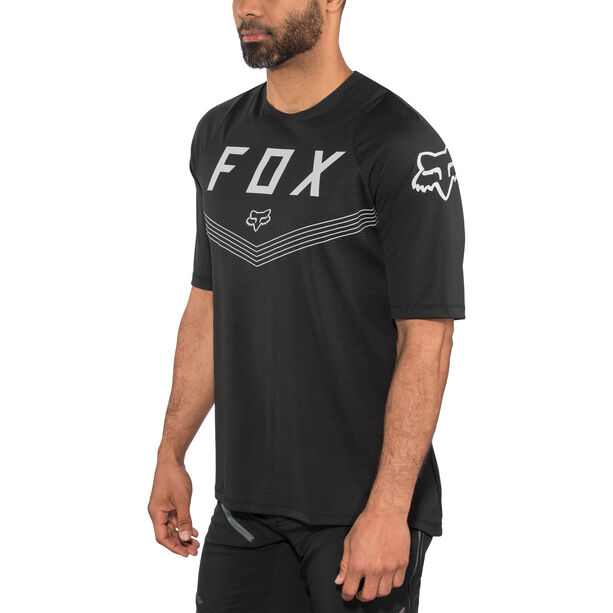 Fox Defend Fine Line SS Jersey Herren black