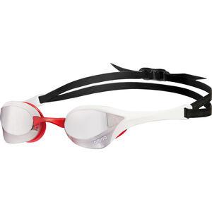 arena Cobra Ultra Mirror Goggles silver-white-red silver-white-red