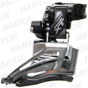 Shimano Deore XT FD-M8025 Umwerfer 2x11-fach Schelle Top Pull