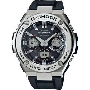 CASIO G-SHOCK GST-W110-1AER Watch Men black silver/white black black silver/white black