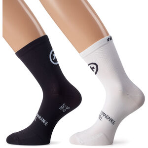 assos tiburuSocks_Evo8 Twin Pack holy white holy white