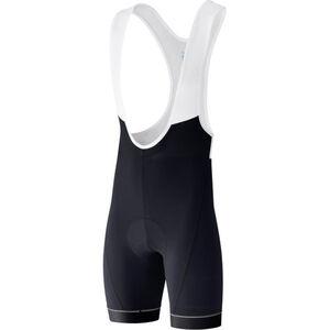 Shimano Advanced Bib Shorts Herren black black