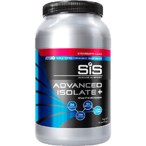 SiS Advanced Isolate Plus Whey Protein 1kg Strawberry