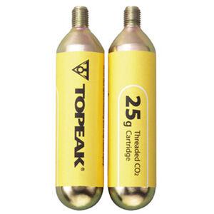 Topeak CO2-Kartuschen mit Gewinde 2er Set