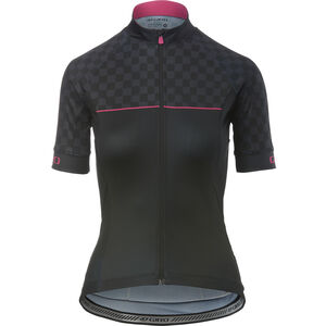 Giro Chrono Sport Jersey Damen black checks black checks