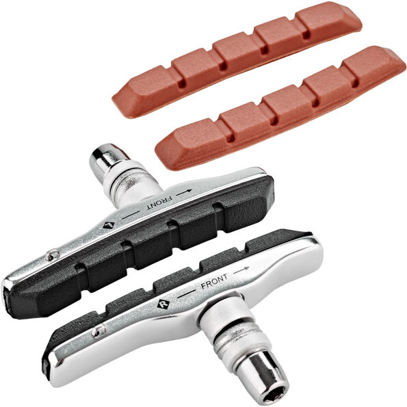 Clarks V-brake pads threaded with spare pads (70mm)