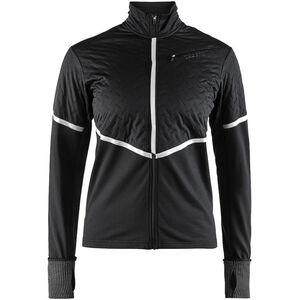Craft Urban Run Thermal Wind Jacket black/silver reflective