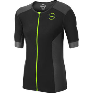Zone3 Aquaflo+ SS Tri Top Herren navy/grey/neon green navy/grey/neon green