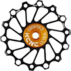 KCNC Jockey Wheel SS Bearing Narrow Wide 14 Zähne black bei fahrrad.de Online