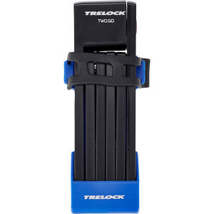 Trelock FS 200/75 TWO.GO Faltschloss 75 cm blau bei fahrrad.de Online