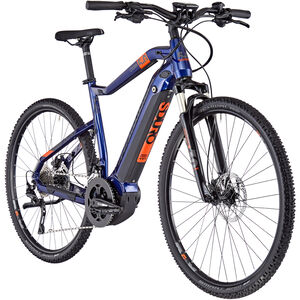 HAIBIKE SDURO Cross 5.0 Herren blue/orange/titan blue/orange/titan