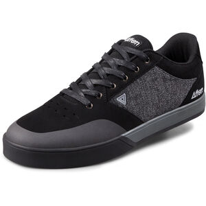Afton Shoes Keegan Flatpedal Shoes Herren black/heathered black/heathered