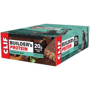 CLIF Bar Builder's Protein Bar Box Chocolate Mint 12 x 68g