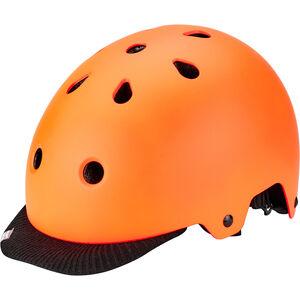 Kali Saha Helm orange/schwarz