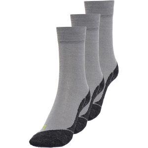 axant 73 Merino Socks 3er Pack grey-green