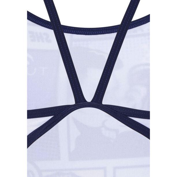 Turbo Swimcomic Thin Strap Swimsuit Damen multicolor