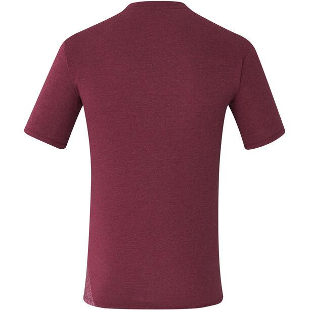 Shimano Transit T-Shirt Herren zinfandel