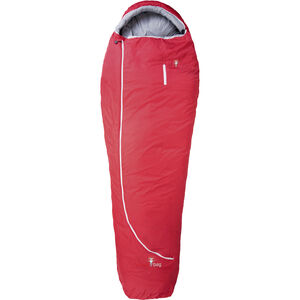 Grüezi-Bag Biopod Wool Zero Schlafsack Regular tango red tango red