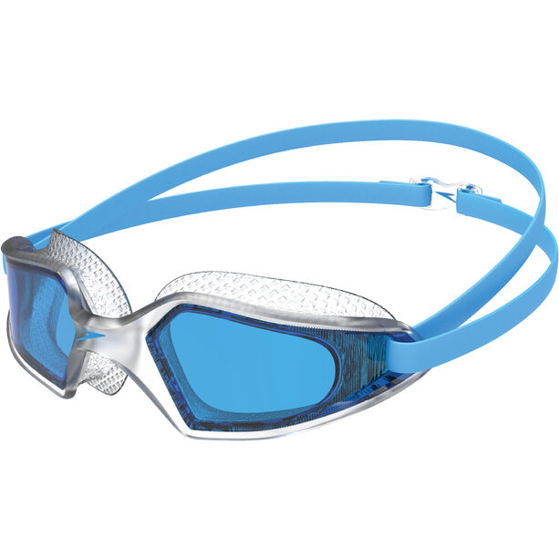 speedo Hydropulse Brille pool blue/clear/blue