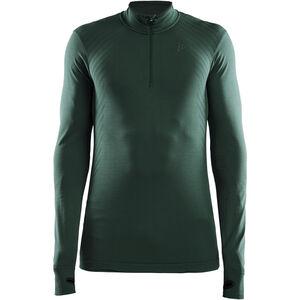 Craft Fuseknit Comfort Zip Shirt Herren pine melange pine melange