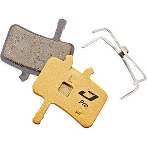 Jagwire Pro Semi-Metallic Bremsbeläge für Avid BB7 / Alle Juicy Modelle 1 Paar gold gold