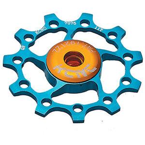 KCNC Jockey Wheel 13 Zähne ceramic bearing blue blue