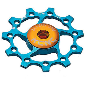 KCNC Jockey Wheel 10 Zähne ceramic bearing blue blue