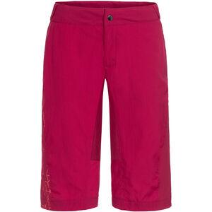 VAUDE Downieville Shorts Damen crimson red crimson red