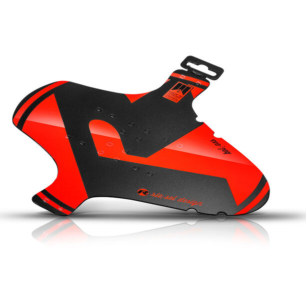"""rie:sel design kol:oss Front Mudguard 26-29"""" Large red"""