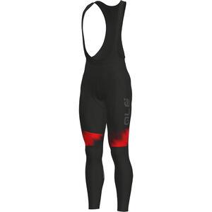 Alé Cycling Solid Pulse Bib Tights Herren black-bordeaux-red black-bordeaux-red