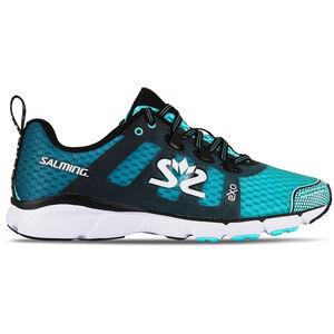 Salming enRoute 2 Shoes Damen aruba blue/black aruba blue/black