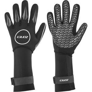 Zone3 Neoprene Swim Gloves black/reflective silver black/reflective silver