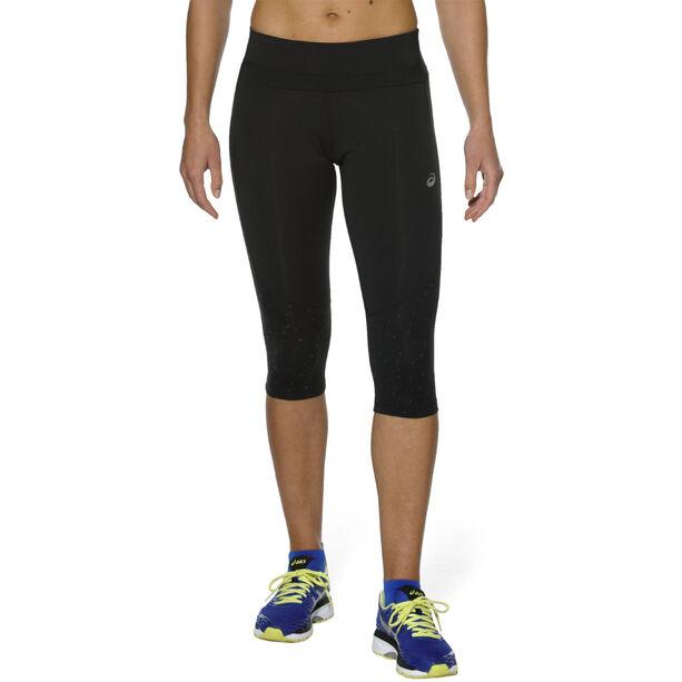asics Lite-Show Knee Tights Damen performance black