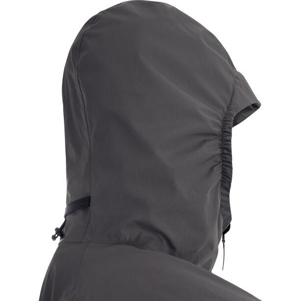 GORE WEAR R7 Partial Gore-Tex Infinium Hooded Jacket Herren black/terra grey