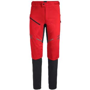 VAUDE Virt II Softshell Pants Herren mars red