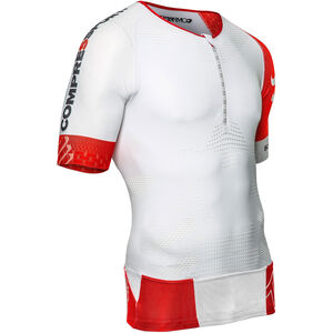 Compressport TR3 Aero Triathlon Top Unisex White