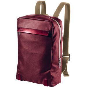 Brooks Pickzip Backpack Canvas 20l chianti/maroon bei fahrrad.de Online
