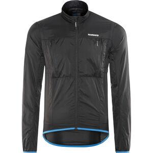 Shimano Hybrid Windbreaker Jacket Men Black