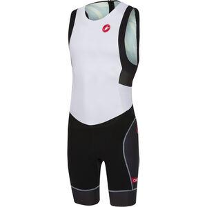 Castelli Short Distance Race Suit Herren white/black white/black
