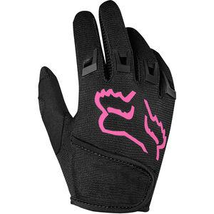 Fox Kids Dirtpaw Gloves Jungs black/pink black/pink