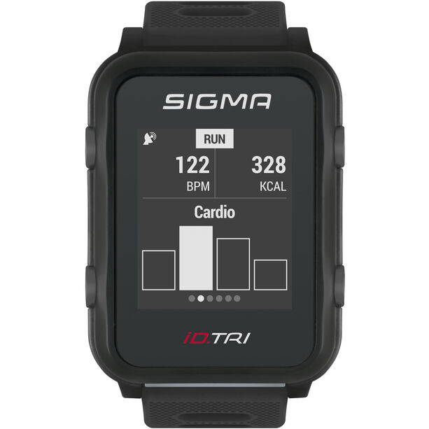 SIGMA SPORT iD.TRI Basic Multisport-Uhr black