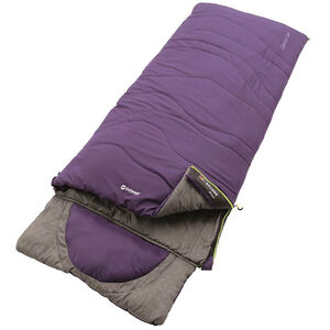 Outwell Contour Lux Sleeping Bag eggplant purple eggplant purple