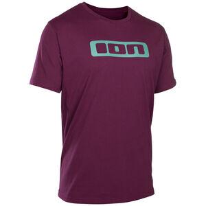 ION Logo Tee SS Men pink isover bei fahrrad.de Online