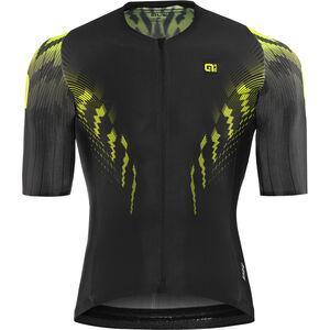 Alé Cycling R-EV1 Pro Race Shortsleeve Jersey Herren black-fluo yellow black-fluo yellow