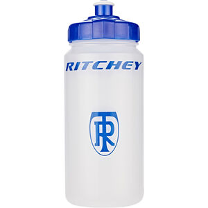Ritchey Trinkflasche 500 ml transparent/blue transparent/blue