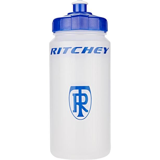 Ritchey Trinkflasche 500 ml transparent/blue