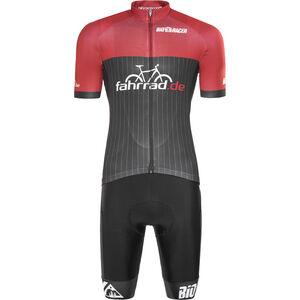 fahrrad.de Pro Race Set Herren black-red black-red