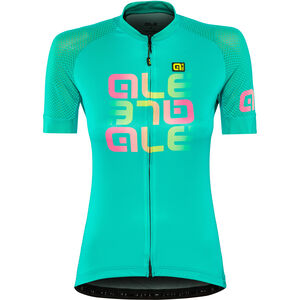 Alé Cycling Solid Mirror SS Jersey Damen green green