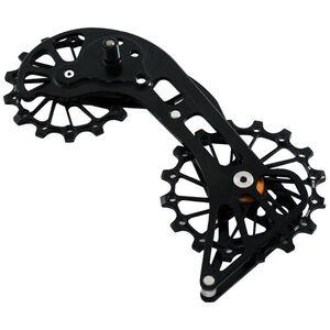 KCNC Jockey Wheel System for MTB SRAM XX1 Eagle 14/16 Teeth Sus Bearing black