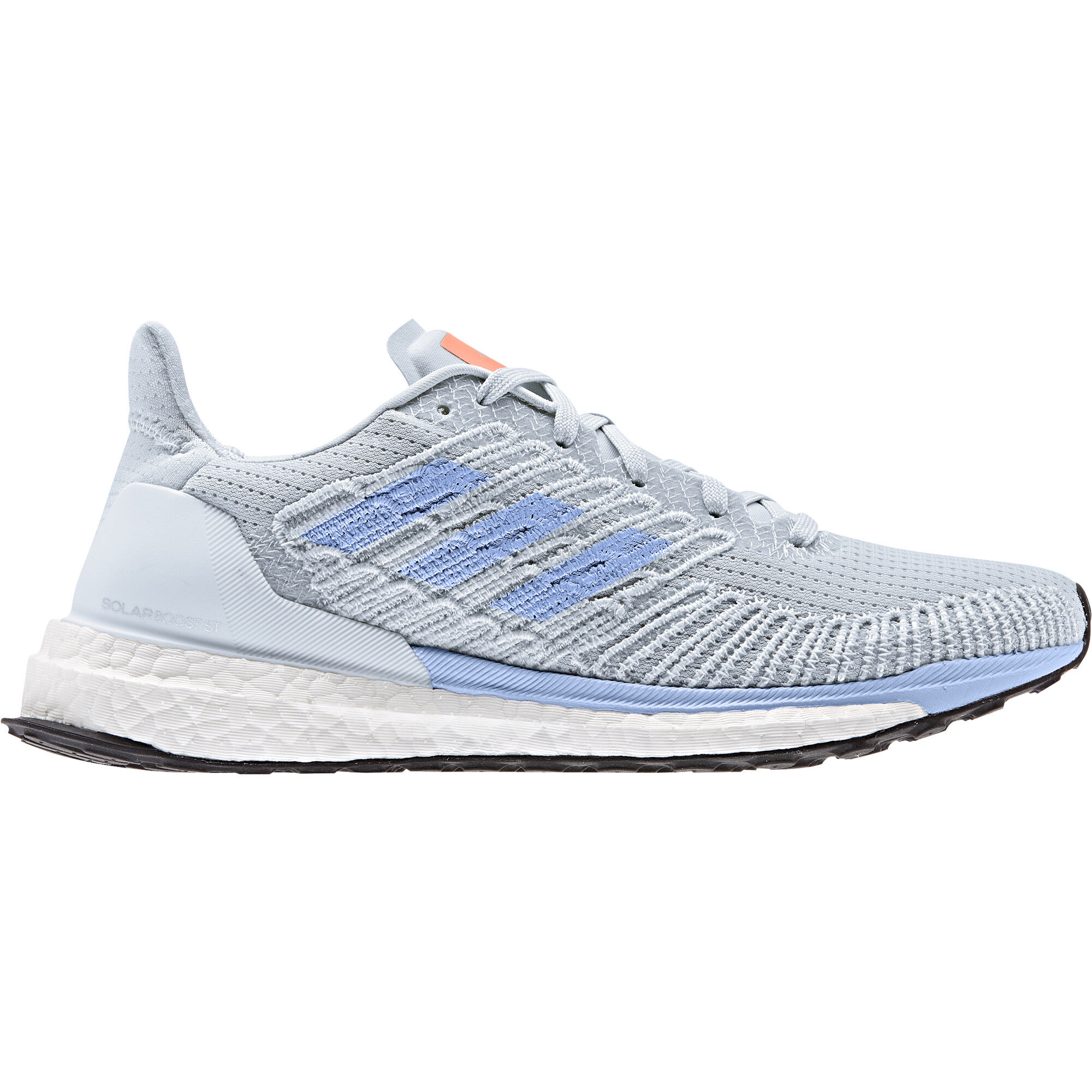 adidas Adizero Boston 8 Low Cut Schuhe Damen grey twofootwear whitehi res coral
